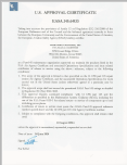 EASA Approval Certification